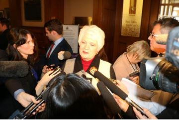 Education Minister Liz Sandals will be announcing grants for student needs on Thursday morning.