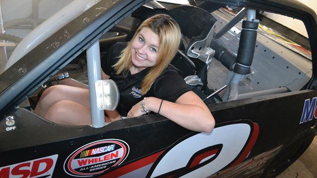 teenage girl race car drivers