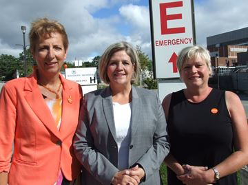 Liberal cuts impact Orillia hospital: Horwath