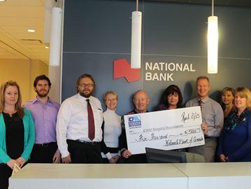 National bank donates to Collingwood hospital