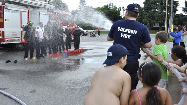 Fire station gets creative for #icebucketchallenge