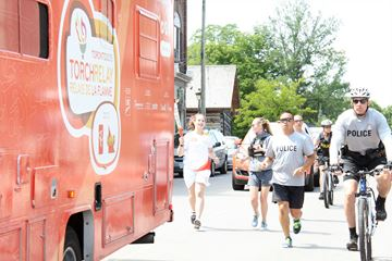 Pan Am Games Torch Relay comes to Carleton Place