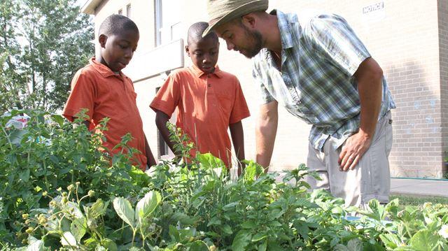 Oakville community garden is a growing partnership
