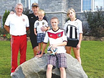 Simcoe County family's love for soccer spans four generations