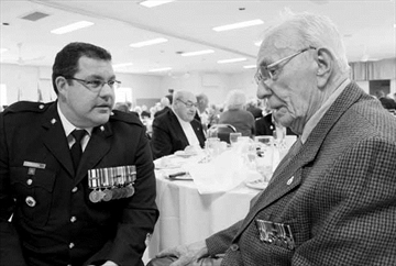 Veterans inspire military's next generation; Kanata legion honours vet– Image 1