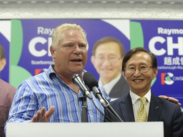 PC Raymond Cho takes Scarborough-Rouge River