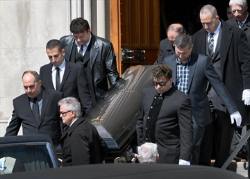 The funeral for Tony Musitano was held at Cathedral Basilica of Christ the King in Hamilton on Wednesday morning