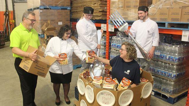 Kitchener Food Bank Wendi Campbell