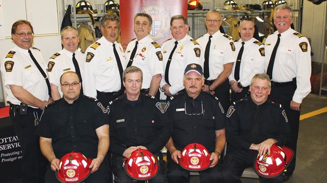 Four firefighters promoted in West Carleton