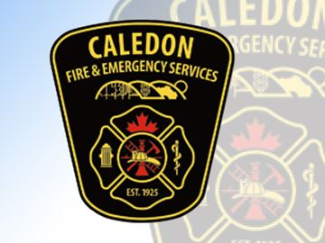 Caledon Fire logo