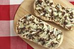Pear pizza on the grill a great summer appetizer