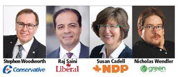 Kitchener Centre candidates