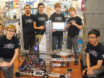 Robotics experience helping to shape students' futures