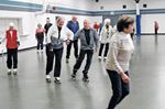 Young at heart roll into senior skate club
