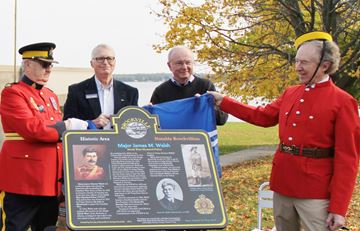 Honouring a Brockville hero