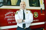 Barrie fire chief Bill Boyes