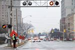 McNicoll Avenue faulty railway crossing