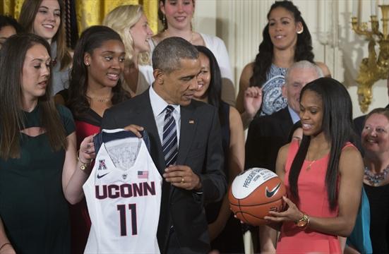Hamilton basketballer Kia Nurse visits White House ...
