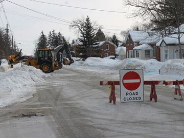 Meaford water main may be frozen a month