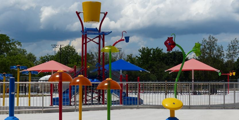 Burlington 39 S New Nelson Pool Splash Pad Opening Earlier Than Expected