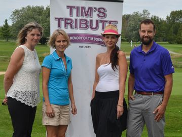 Golfers tee up for families of murder victims at Tim's Tribute tournament