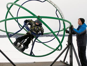 Families have a blast at Midland Winterfest