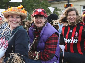 Scarecrow sports stars invade Meaford