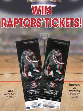 Toronto Raptors' Tickets' Winner
