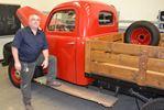 St. Theresa's raffling off restored 1947 Ford truck