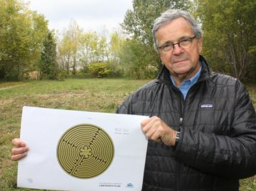 Collingwood labyrinth seeks Aviva Fund votes to help with fundraising