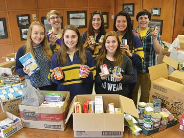 Midland Secondary School supports food drive