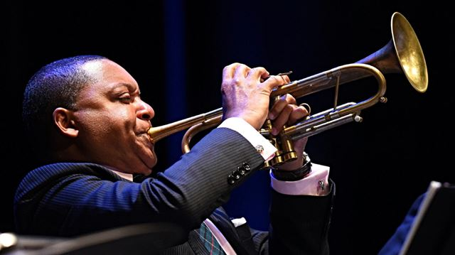 Opinion Wynton Marsalis And The Band Swings In The