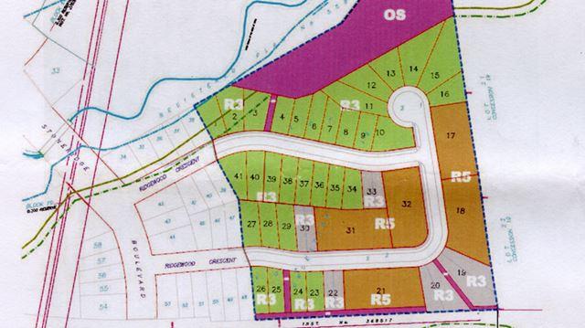 Proposed extension of Ridgewood Crescent