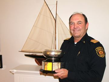 Meaford fire chief is also a world champion sailor