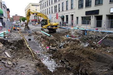 Princess Street Big Dig