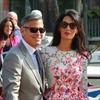 George Clooney's in-laws organise extravagant bash-Image1