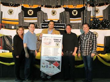 WC Minor Hockey throws end-of-season celebration