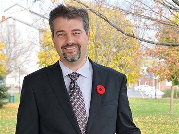 Scugog mayor-elect Tom Rowett