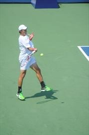 Pan Am Games tennis action