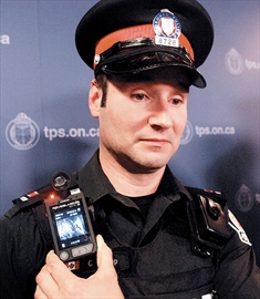 Body-worn video camera