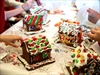 Bridgepoint Gingerbread houses