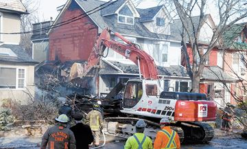 blaze on Withrow Avenue