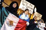Vigil for missing Mexican students