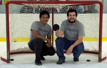 Blind hockey players not sold on new puck-Image1