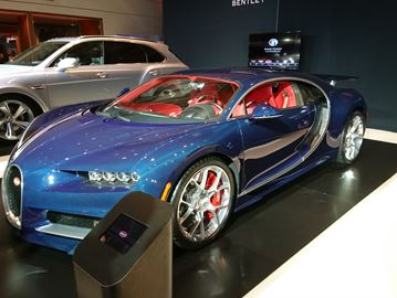 Bugatti Chiron at the Toronto AutoShow