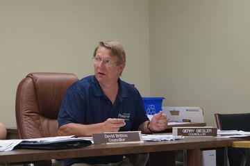 Powassan Councillor Gerry Giesler