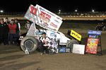 Jamie Turner wins first sprint car feature