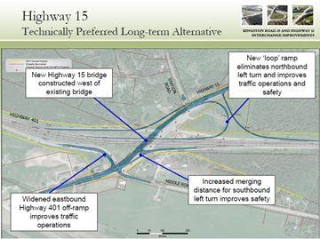 Highway 15 interchange improvements