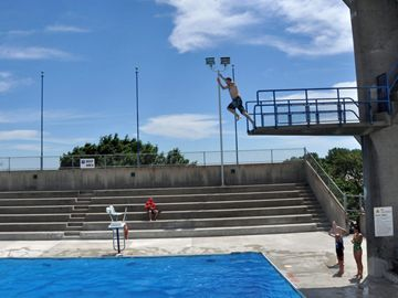 Donald D Summerville Pool Opening A Big Splash With Swimmers