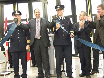 Orillia celebrates new fire station